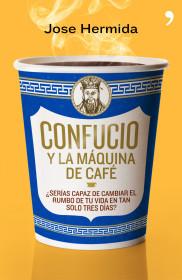 Confucio y la máquina de café de José Hermida. El bolso amarillo